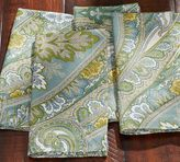 Pottery Barn Anton Paisley Napkin, Set of 4 - Blue
