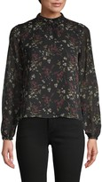 BB Dakota Floral Long Sleeve Top