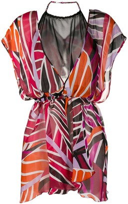 Emilio Pucci Sal-printed short dress