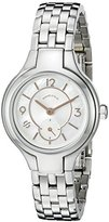 Philip Stein Teslar Women's Mother of pearl dial with rose gold accents on stainless Steel bracelet