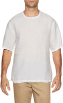 Shades of Grey by Micah Cohen Men's Linen Drawstring Hem Sweatshirt