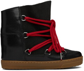 Isabel Marant Black Nowles Ankle Boots