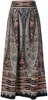 Vilshenko victorian print palazzo trousers