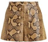 Thumbnail for your product : Ralph Lauren Collection Ralph Lauren Chelsey Embossed Goatskin Short