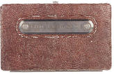 Thomas Wylde Embossed Leather Clutch