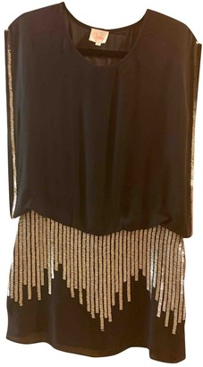 Parker Black Silk Dress for Women