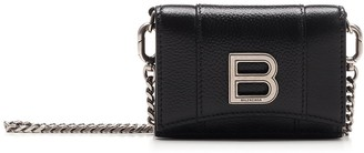 Balenciaga Hourglass Chain Strap Crossbody Bag