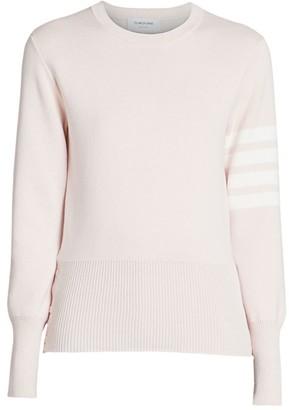 Thom Browne Milano Stitch Classic Crew Sweater