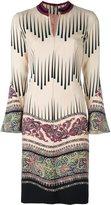 Etro floral print dress - women - Spandex/Elastane/Cupro/Wool - 40