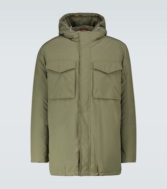 Brunello Cucinelli Technical fabric parka