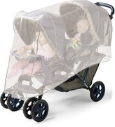Jolly Jumper Double Stroller Insect - Bug Net Fits Side By Side Or Tandem Str...