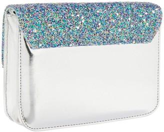 Accessorize Girls Glitter Party Across Body Bag - Blue