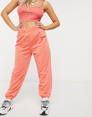 New Girl Order high waisted joggers