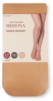 Merona Women's Tights Honey Beige 20D Sheer Control Top Collection