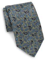 Eton Italian Silk Paisley Printed Tie