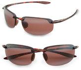 Maui Jim Men's 'Ho'Okipa - Polarizedplus2' 63Mm Sunglasses - Black