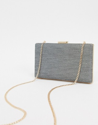 Dune mermaid metallic box bag