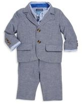 Andy & Evan Baby's Two-Piece Linen-Blend Suit