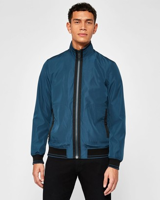 Ted Baker Grosgrain Trim Bomber Jacket