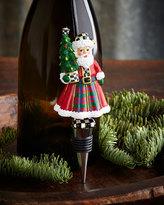 Mackenzie Childs MacKenzie-Childs Santa Bottle Stopper