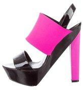 Pierre Hardy Platform Slingback Sandals