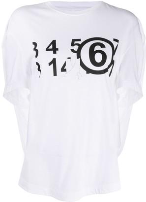 MM6 MAISON MARGIELA logo print T-shirt