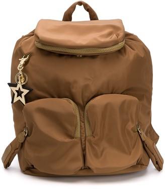 See by Chloe Joy Rider zip pocket backpack