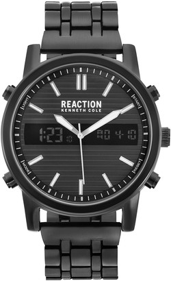 Kenneth Cole Reaction Men's Black Stainless Watch