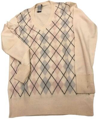 Pringle White Wool Knitwear