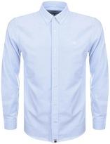 Pretty Green Sterling Oxford Shirt Blue