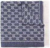 Gucci GG jacquard scarf - women - Wool - One Size