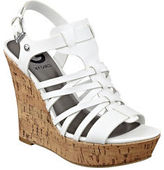 G by Guess GByGUESS Women's Dede Cork Wedge Sandals