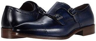 JM Collection J&M Collection Reece Monk (Black) Men's Shoes