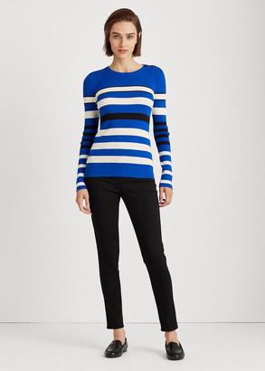 Ralph Lauren Ribbed Cotton-Blend Sweater