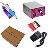 Belle Professional Complete Electric Nail Manicure Pedicure Drill File Machine for Acrylics, Natural, Gels Nails