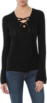 Feel The Piece Koko Lace Up Sweater
