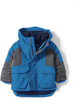 Classic Toddler Boys Squall Parka-Intense Blue