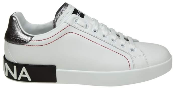 Dolce & Gabbana portofino Sneakers White Leather