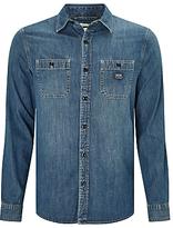 Denim & Supply Ralph Lauren Work 2 Pocket Denim Shirt, Ranger Wash Ban