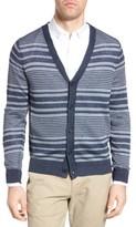 Michael Bastian Men's Stripe Linen Cardigan