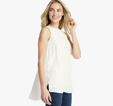 Johnston & Murphy Pleat-Back Sleeveless Top