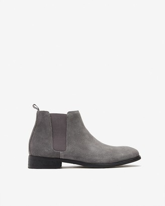 Express Suede Chelsea Boots