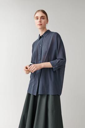 Cos Oversized Tunic Shirt