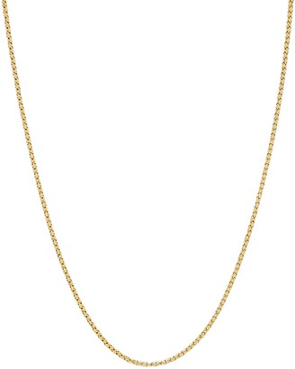 Saks Fifth Avenue Made In Italy 14K Yellow Gold Bird Cage Chain Necklace