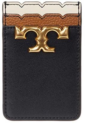 Tory Burch Eleanor Card Pocket (Black) Handbags