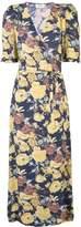 Sea Ella floral wrap dress
