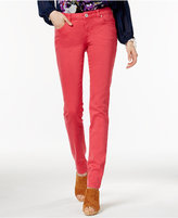 INC International Concepts Pink Wash Skinny Jeans, Only at Macy's