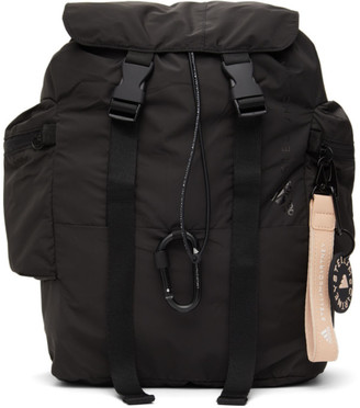 adidas by Stella McCartney Black Logo Backpack