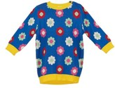 Margherita Girl's Daisy Double Knit Sweater Dress