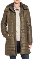 Barbour Women's Gaiter Hooded Quilted Coat